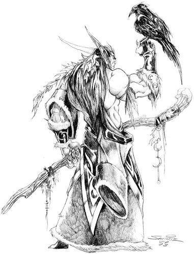 魔兽世界五周年纪念站点新增部落联盟原画