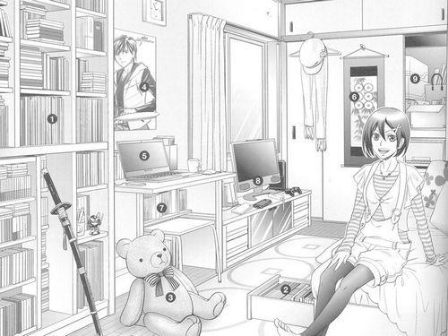 卧室图片大全简笔画
